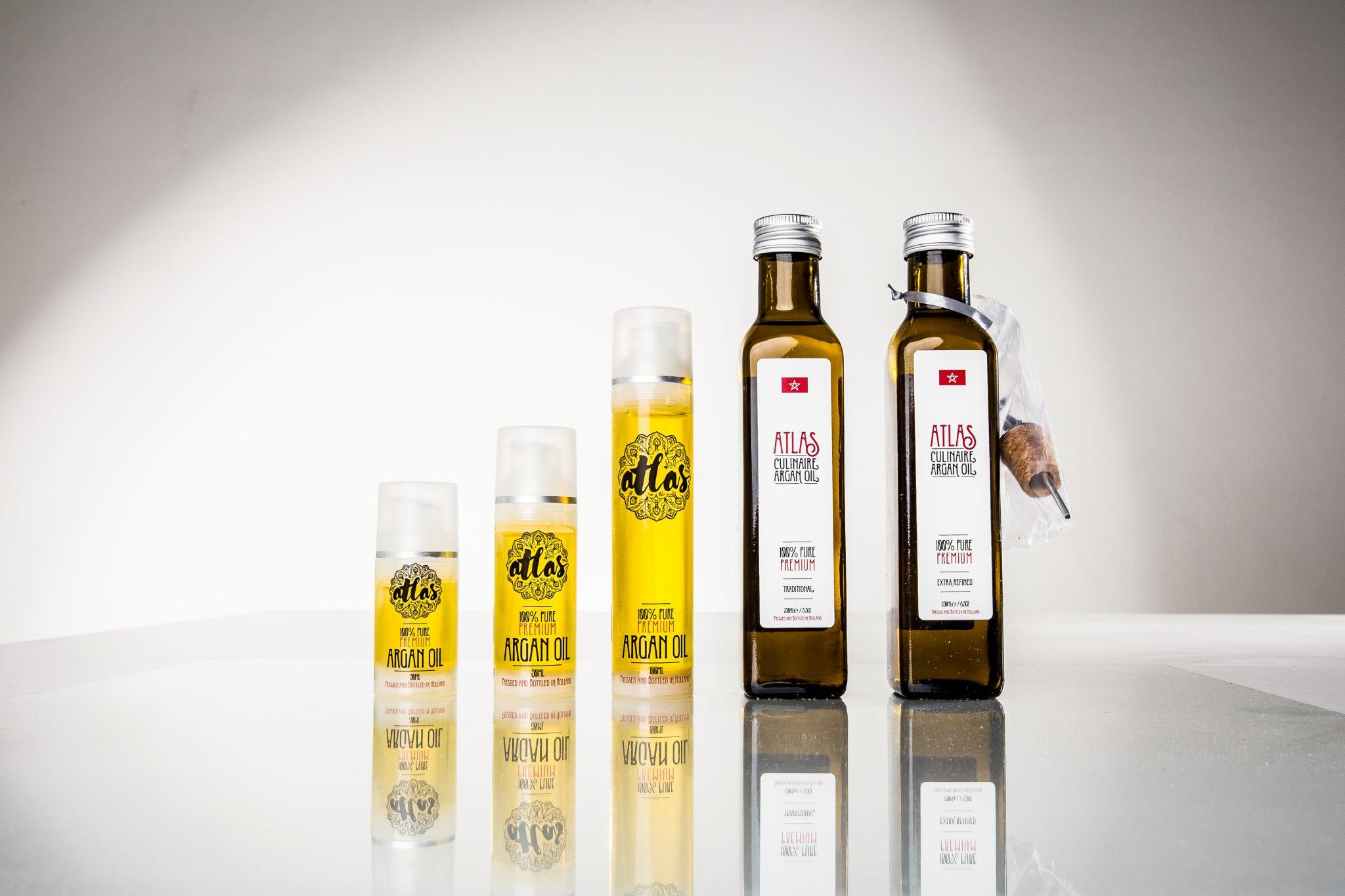 Argan olie assortiment